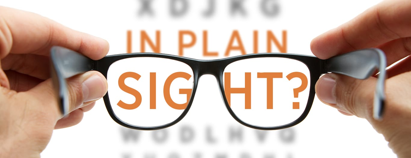In Plain Sight banner image