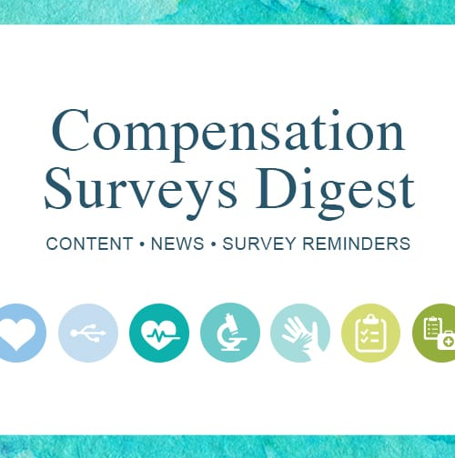 July Compensation Surveys Digest #2