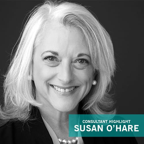Welcome Back Susan O'Hare