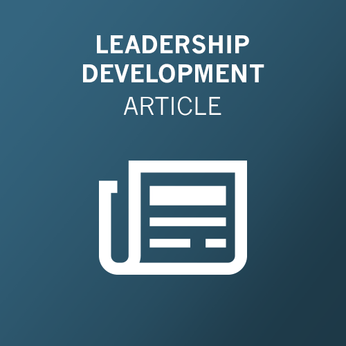 Leadership Continuity: From Emergency Transition to the Leadership Pipeline